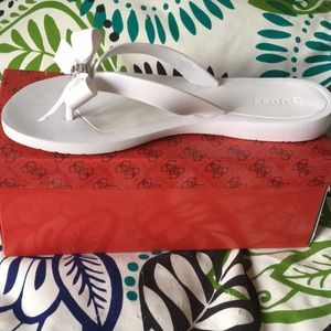 "144097eb7 Guess Shoes - Super cute Guess ""tutu"" flip flops. Size 40   9M"